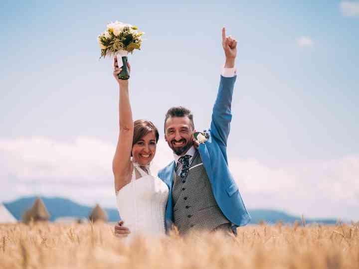 La boda de Laura y Luca