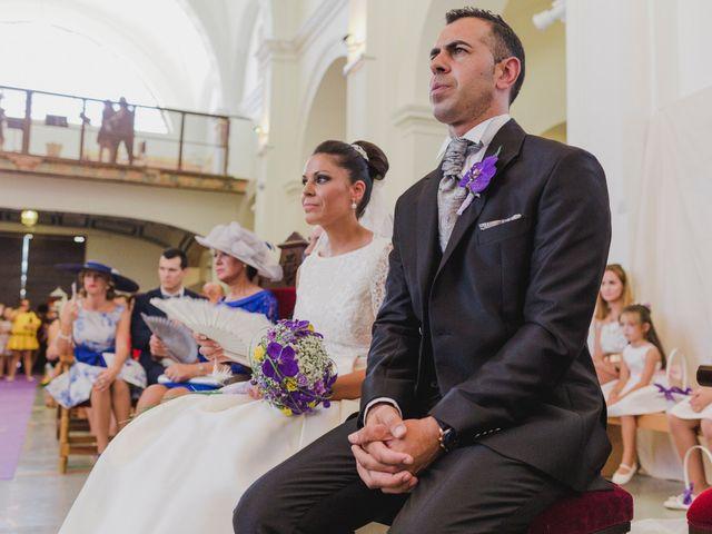 La boda de Manuel y Raquel en Huescar, Granada 38