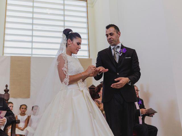 La boda de Manuel y Raquel en Huescar, Granada 45