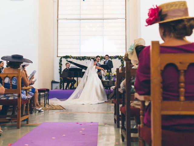 La boda de Manuel y Raquel en Huescar, Granada 47