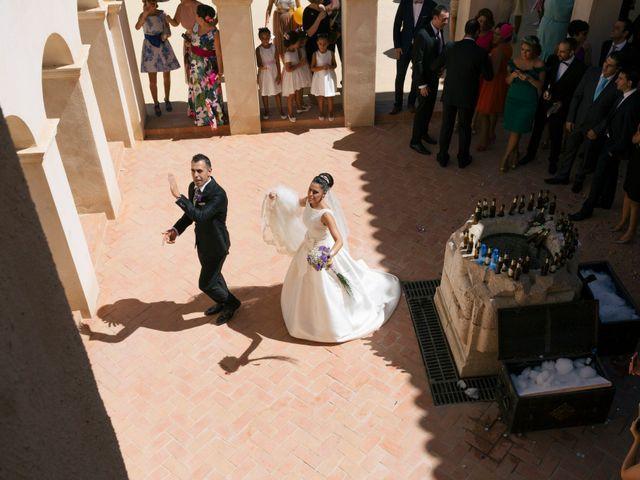 La boda de Manuel y Raquel en Huescar, Granada 52