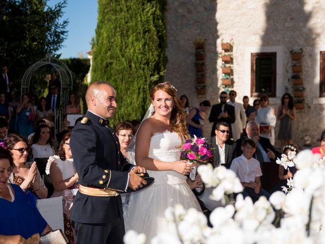 La boda de Saúl y Beatriz  en Fuentidueña, Segovia 78