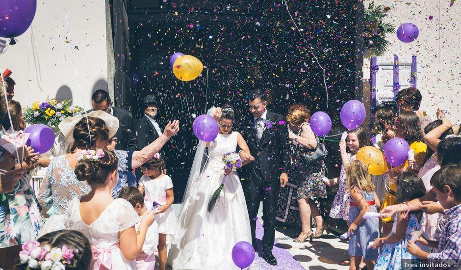 La boda de Manuel y Raquel en Huescar, Granada