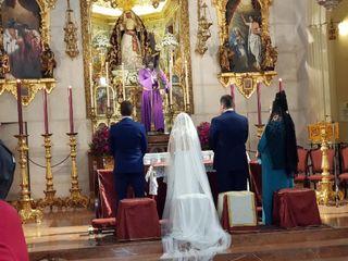 La boda de Virginia  y Miguel Angel  1