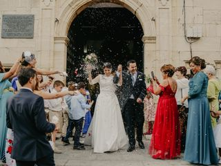 La boda de Gisela y Marcos