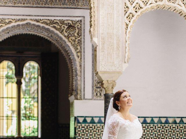 La boda de Ángel y Marta en Carmona, Sevilla 20