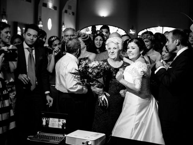 La boda de Ángel y Marta en Carmona, Sevilla 42