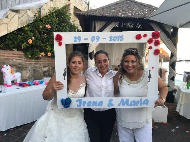 La boda de Irene  nevado y Maria muñoz en Benalmadena Costa, Málaga 12