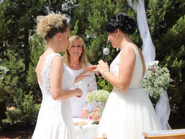 La boda de Nora y Jael