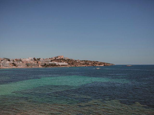 La boda de Christelle y Erol en Cala De San Vicente Ibiza, Islas Baleares 22