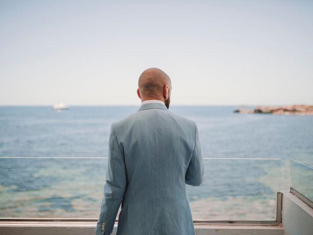 La boda de Christelle y Erol en Cala De San Vicente Ibiza, Islas Baleares 23