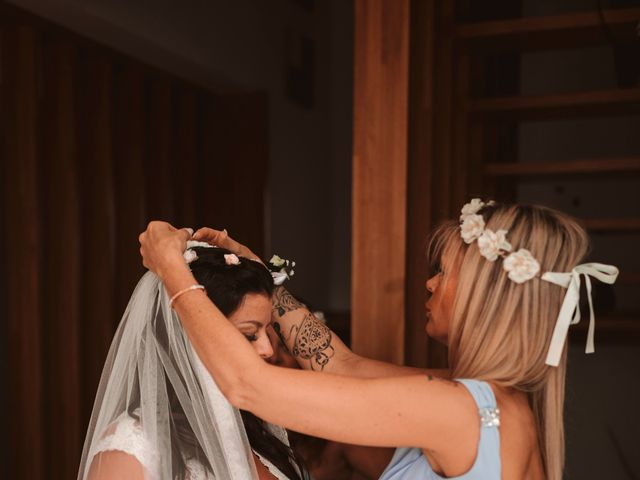 La boda de Christelle y Erol en Cala De San Vicente Ibiza, Islas Baleares 81