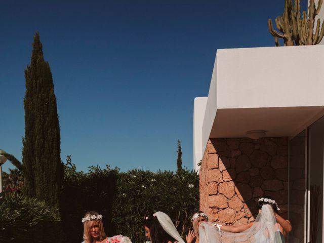 La boda de Christelle y Erol en Cala De San Vicente Ibiza, Islas Baleares 83