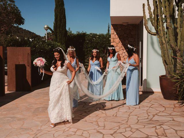 La boda de Christelle y Erol en Cala De San Vicente Ibiza, Islas Baleares 84