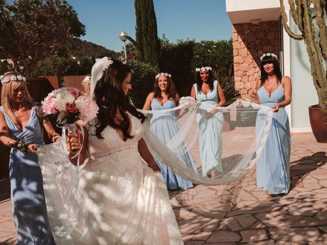 La boda de Christelle y Erol en Cala De San Vicente Ibiza, Islas Baleares 85
