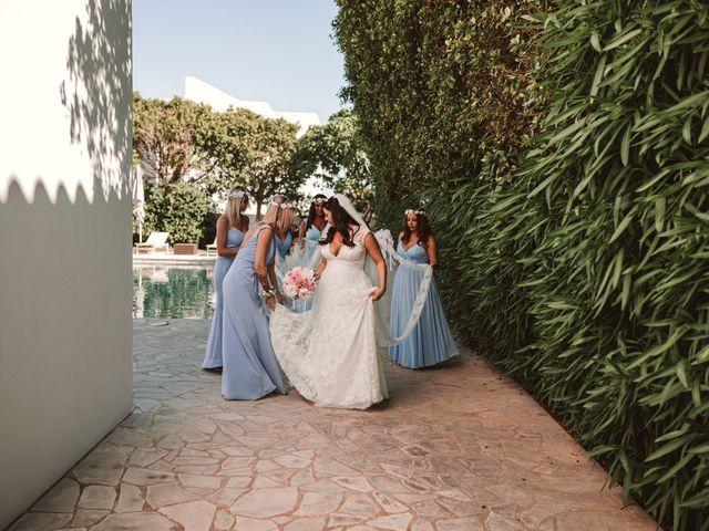 La boda de Christelle y Erol en Cala De San Vicente Ibiza, Islas Baleares 89