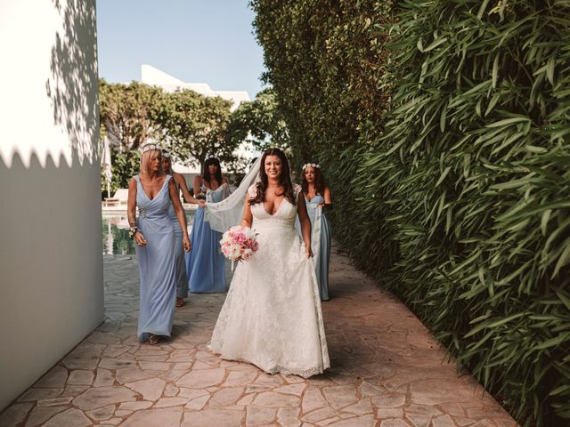 La boda de Christelle y Erol en Cala De San Vicente Ibiza, Islas Baleares 90