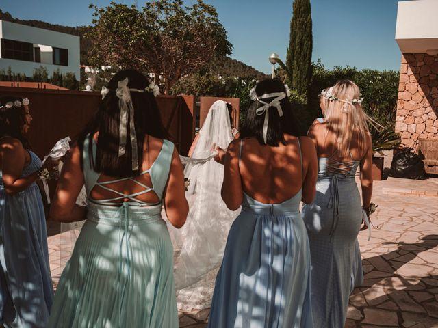 La boda de Christelle y Erol en Cala De San Vicente Ibiza, Islas Baleares 91