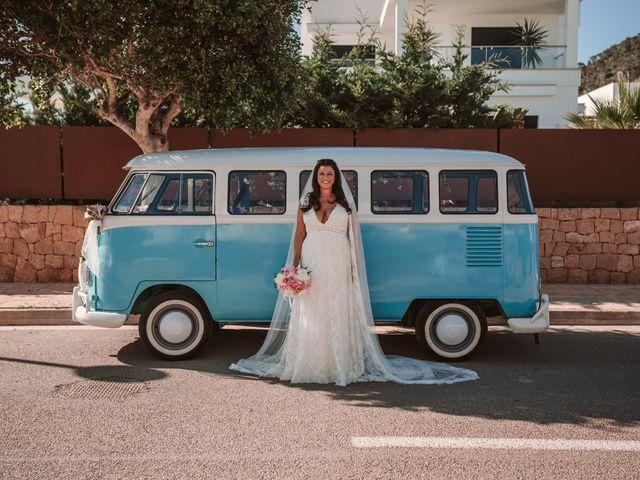 La boda de Christelle y Erol en Cala De San Vicente Ibiza, Islas Baleares 97