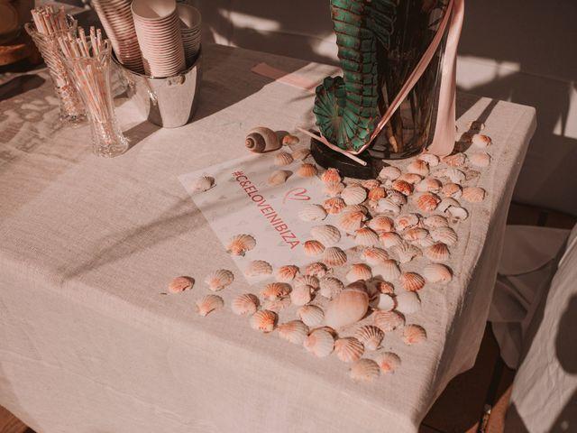 La boda de Christelle y Erol en Cala De San Vicente Ibiza, Islas Baleares 114