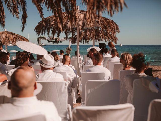 La boda de Christelle y Erol en Cala De San Vicente Ibiza, Islas Baleares 115