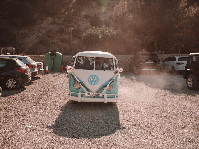 La boda de Christelle y Erol en Cala De San Vicente Ibiza, Islas Baleares 120