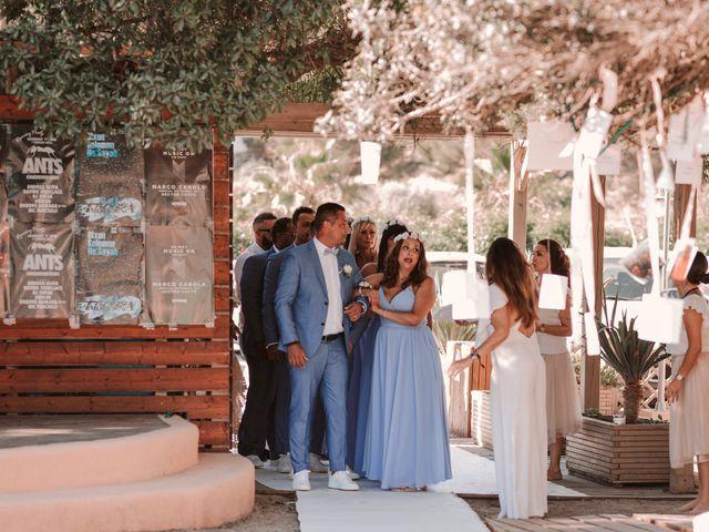 La boda de Christelle y Erol en Cala De San Vicente Ibiza, Islas Baleares 124