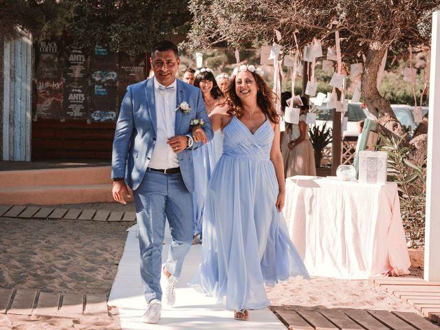 La boda de Christelle y Erol en Cala De San Vicente Ibiza, Islas Baleares 125