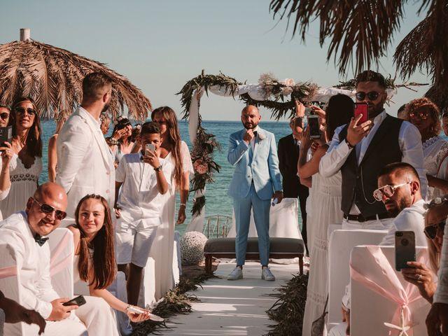La boda de Christelle y Erol en Cala De San Vicente Ibiza, Islas Baleares 128