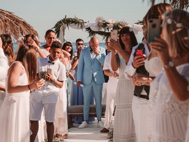 La boda de Christelle y Erol en Cala De San Vicente Ibiza, Islas Baleares 130