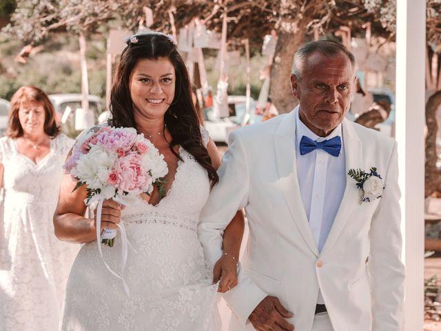 La boda de Christelle y Erol en Cala De San Vicente Ibiza, Islas Baleares 131