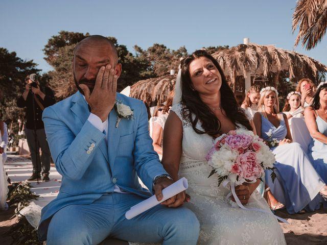 La boda de Christelle y Erol en Cala De San Vicente Ibiza, Islas Baleares 139