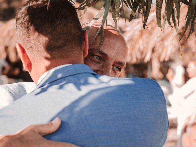 La boda de Christelle y Erol en Cala De San Vicente Ibiza, Islas Baleares 140