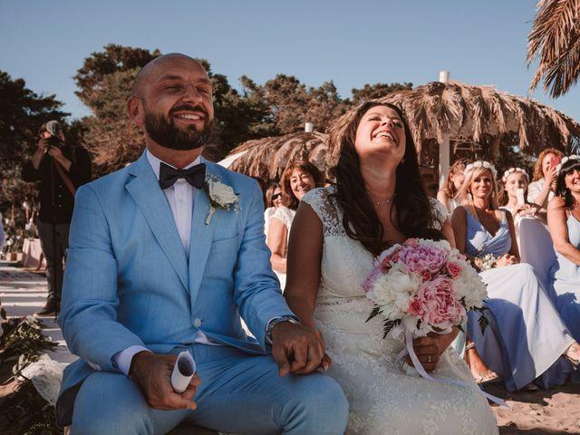 La boda de Christelle y Erol en Cala De San Vicente Ibiza, Islas Baleares 141