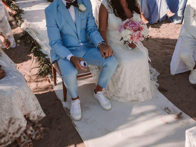 La boda de Christelle y Erol en Cala De San Vicente Ibiza, Islas Baleares 142
