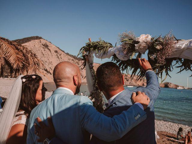 La boda de Christelle y Erol en Cala De San Vicente Ibiza, Islas Baleares 143