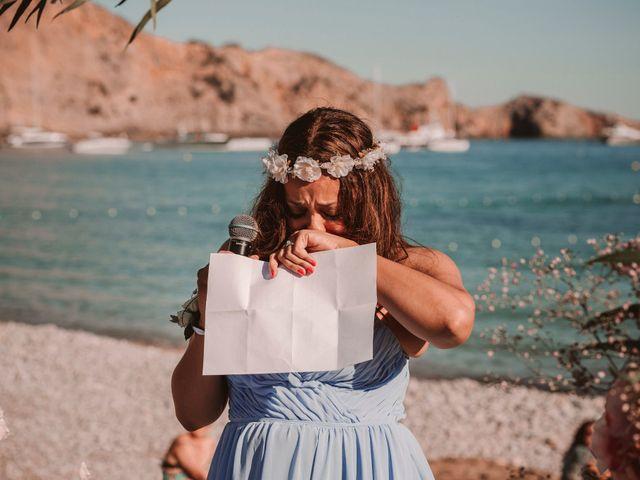 La boda de Christelle y Erol en Cala De San Vicente Ibiza, Islas Baleares 144