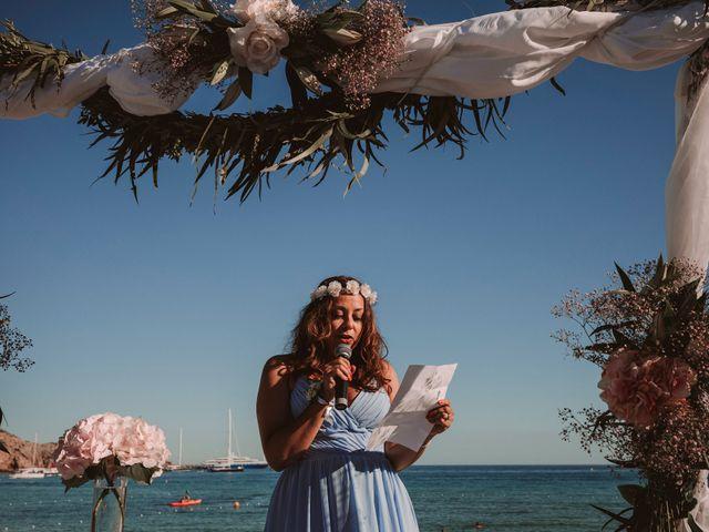 La boda de Christelle y Erol en Cala De San Vicente Ibiza, Islas Baleares 145