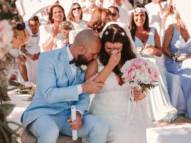 La boda de Christelle y Erol en Cala De San Vicente Ibiza, Islas Baleares 146