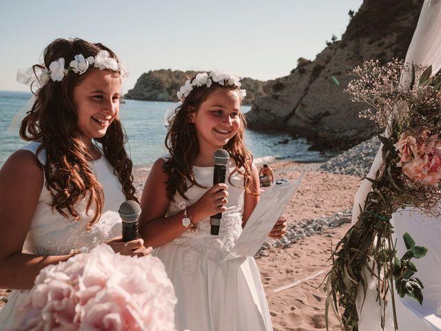 La boda de Christelle y Erol en Cala De San Vicente Ibiza, Islas Baleares 148