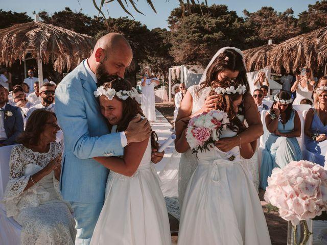 La boda de Christelle y Erol en Cala De San Vicente Ibiza, Islas Baleares 149