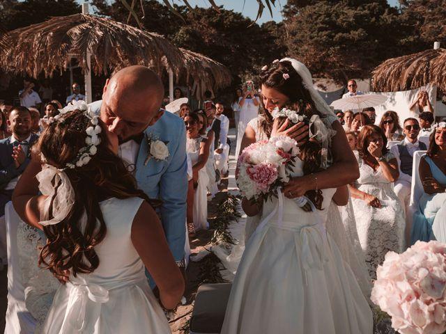 La boda de Christelle y Erol en Cala De San Vicente Ibiza, Islas Baleares 153