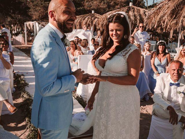 La boda de Christelle y Erol en Cala De San Vicente Ibiza, Islas Baleares 154
