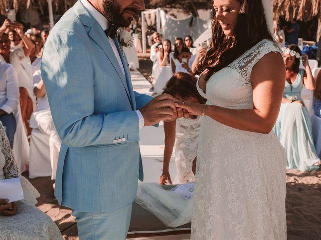 La boda de Christelle y Erol en Cala De San Vicente Ibiza, Islas Baleares 157