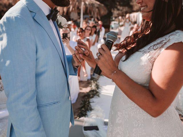 La boda de Christelle y Erol en Cala De San Vicente Ibiza, Islas Baleares 161