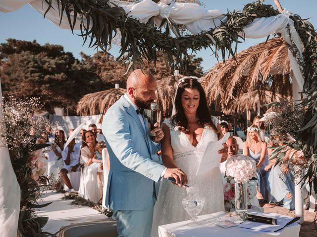 La boda de Christelle y Erol en Cala De San Vicente Ibiza, Islas Baleares 163