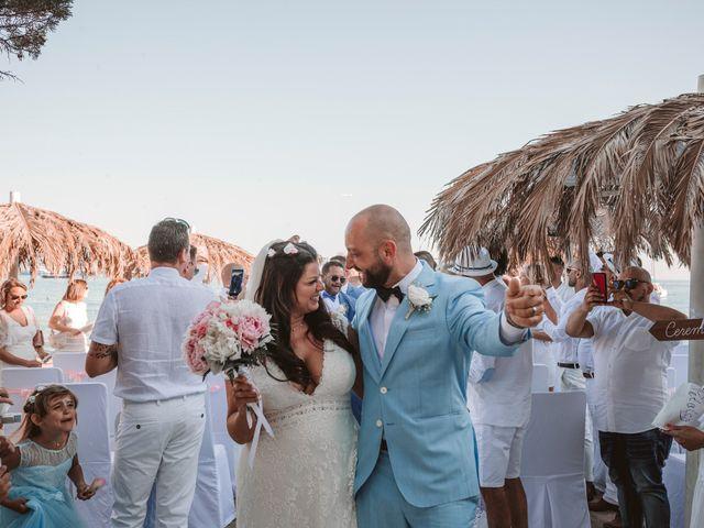 La boda de Christelle y Erol en Cala De San Vicente Ibiza, Islas Baleares 171