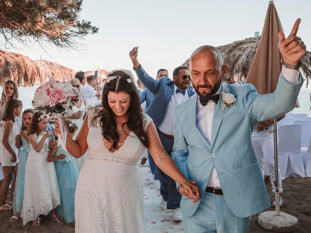 La boda de Christelle y Erol en Cala De San Vicente Ibiza, Islas Baleares 1