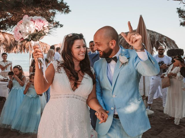La boda de Erol y Christelle
