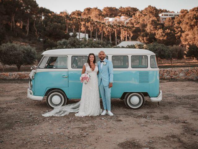 La boda de Christelle y Erol en Cala De San Vicente Ibiza, Islas Baleares 174